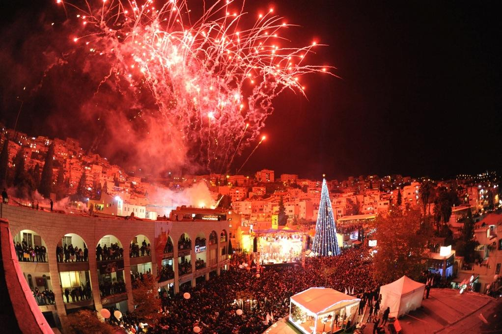 Lighting The Christmas Tree At Mery S Well Nazareth