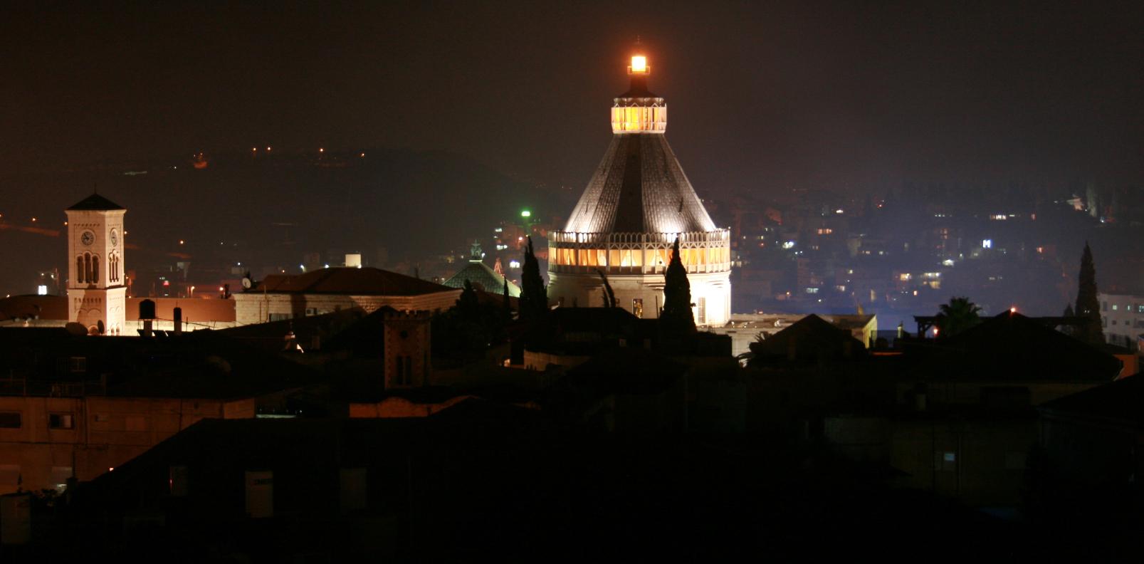 כנסיית הבשורה בזיליקנית נצרת