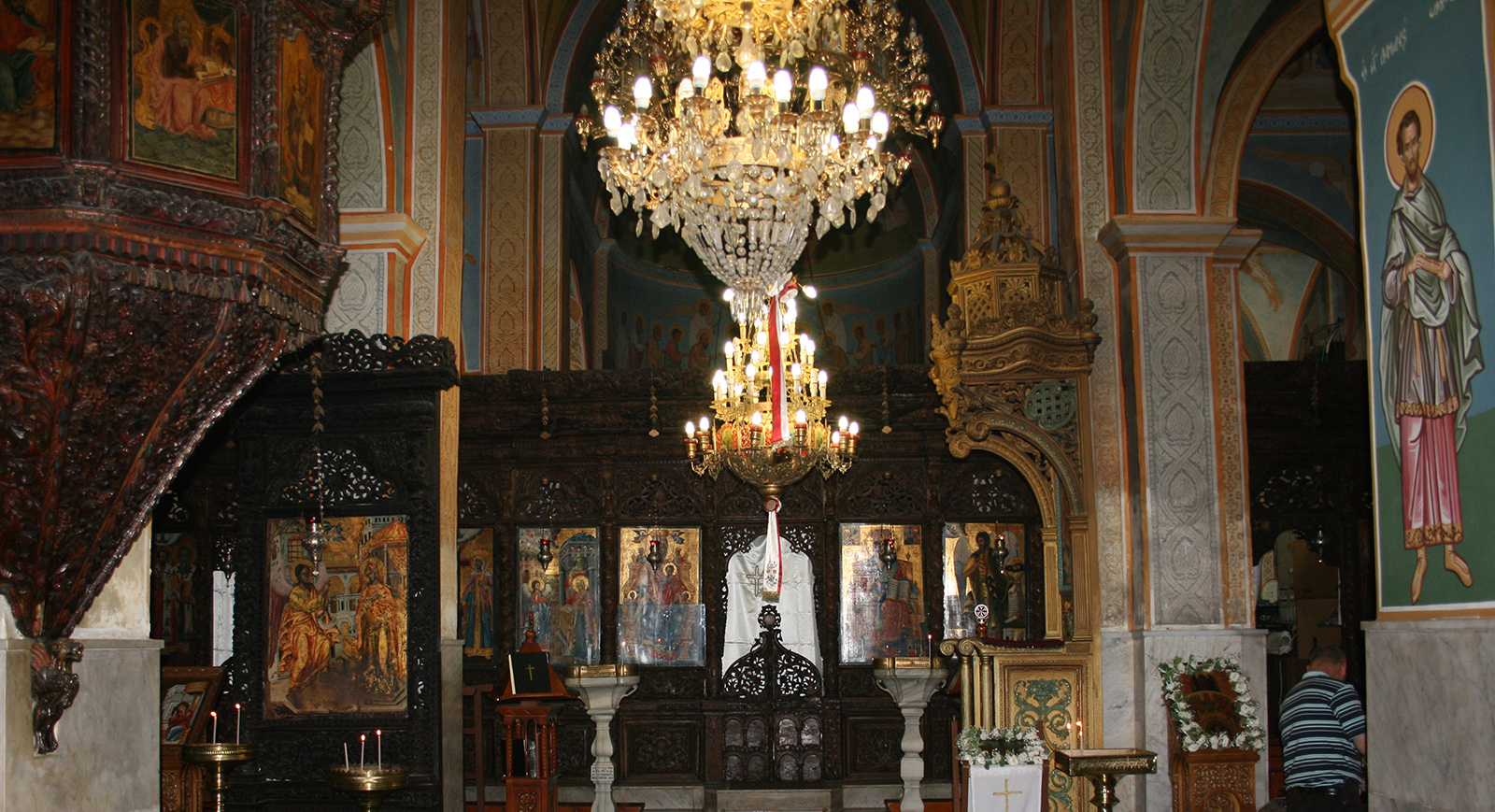 The Greek Orthodox Church of Annunciation in Nazareth