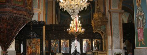 The Greek Orthodox Church of Annunciation in Nazareth